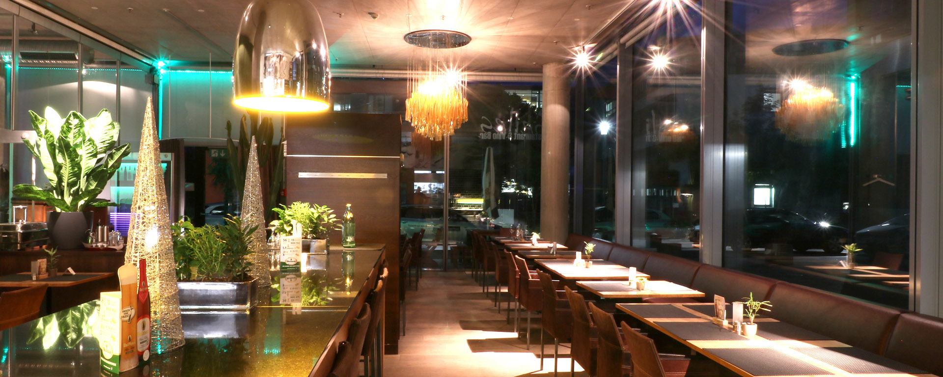 Seile´s Restaurant & Vino-Bar im Hegau-Tower Singen. Gutbürgerlich Essen in Singen, neue deutsche Küche